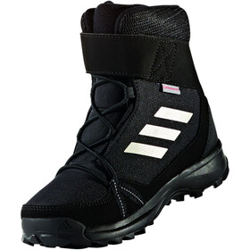 adidas TERREX Snow High Shoes Kinder core black/chalk white/grey four